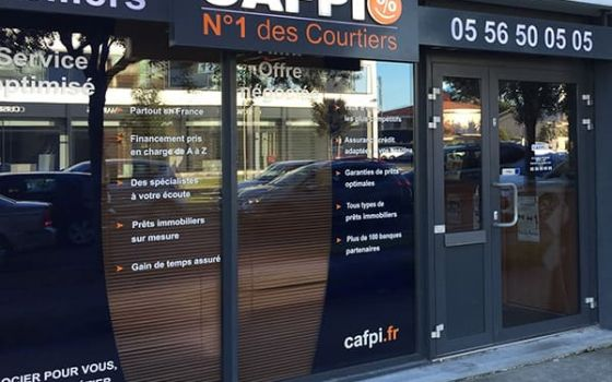 CAFPI Merignac : photo agence de courtiers