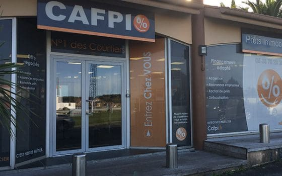 CAFPI Anglet : photo agence de courtiers