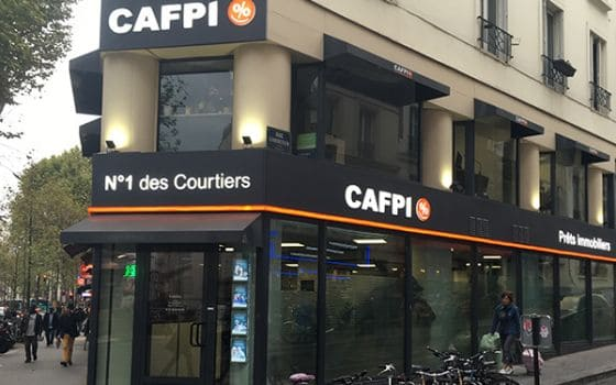 CAFPI Paris 18 : photo agence de courtiers