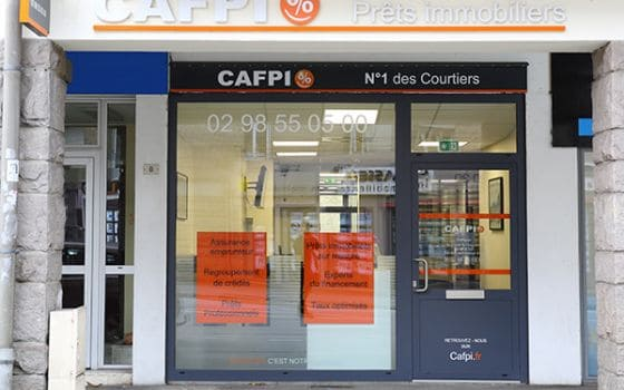 CAFPI Quimper  : photo agence de courtiers