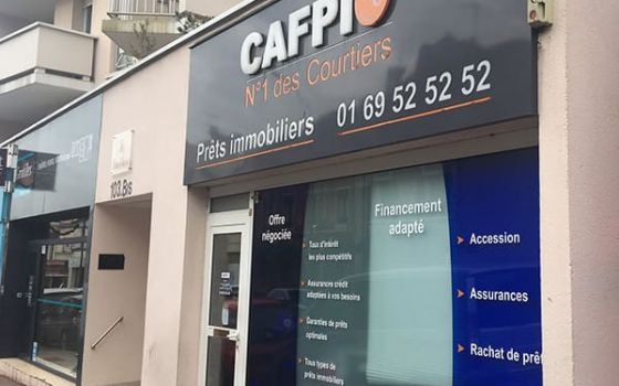 CAFPI Montgeron : photo agence de courtiers
