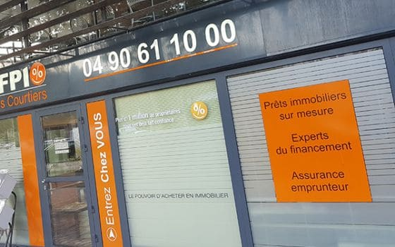 CAFPI Orange : photo agence de courtiers