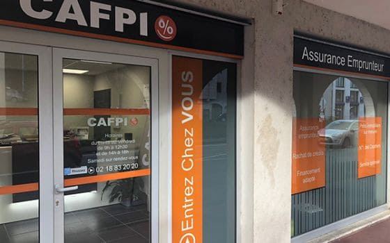 CAFPI Blois : photo agence de courtiers
